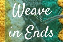 weaving ends