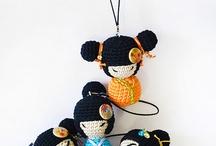 Kokeshi a crochet