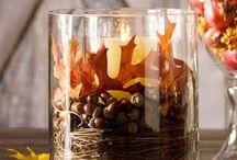 Podzimní dekorace / Inspirace na podzimní výzdobu