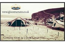 Igloo Structures - unique tent hire / Alternative marquees and unique tents for hire, Cornwall