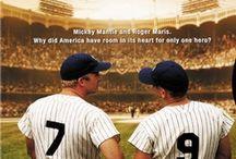 Collected baseball movies / Just ...  Love the baseball ...