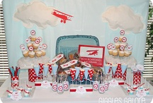 PARTY: Airplane Party / Crafts, printables, recipes, and party decor to help you host an EXTRAORDINARY Airplane party!