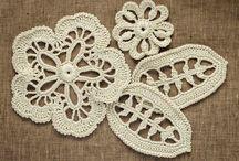 Aplicação de crochet pra blusa