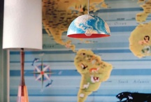 Kid's Travel Rooms / Have a young traveler who dreams of seeing the world? Keep their dreams alive with some stylish decor