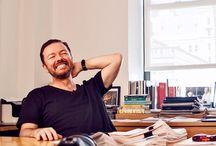Go create! / Der großartige Ricky Gervais...