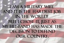 Proud military wife.