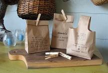 Brown paper bag ideas / by Angelique JvR Photography & Design