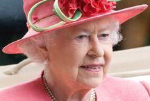Queen Elizabeth II , fashion and hats / by Danielle MADEMAN