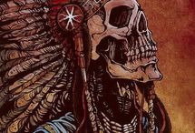 Indian skulls