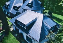 Home with Dacora / Roofing slates Dacora - for aesthetic and durable result.
