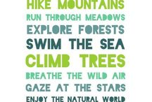 Inspiration for the Outdoors / Find your dose of motivation to get outdoors here  #ExperiencetheOutdoors