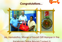 Our Online Briyani Contest Winners 2015