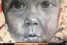 Portraits / I paint portraits