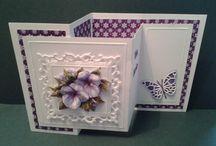 Z fold cards