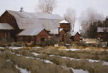 Mark Boedges / Landscape painting