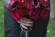 Gothic Glam Wedding