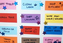 Kids' stuff & organizing