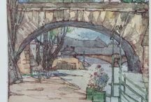 The Art of Jessie M King / From the book Ponts de Paris