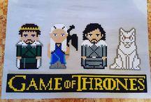 Perler Game of Thrones