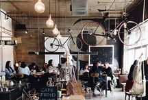 Cafe Ideas / Cafe, design, food
