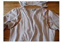 DIY old clothes