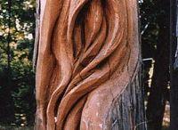 σκαλισμένο ξύλο