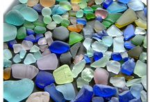 glass from the sea