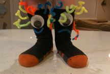 Crazy socks&shoe day crazy hair day
