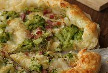 sfoglia con broccoli e pancetta