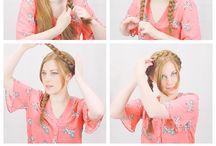 Milkmaid hair ideas