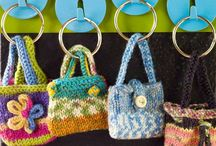key ring mini purse