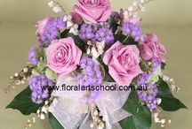 Flower Arranging / Different styles of flower arranging www.floral-art-school.com.au