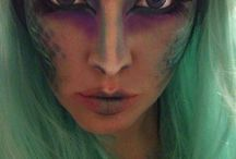 Halloween makeup / by Nancy Holck