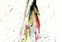 Fashion sketches❤️