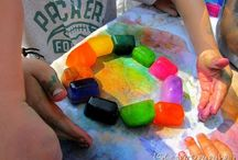 Summer Play / Summer ideas for kids. Summer play, Summer fun, outdoor play, indoor play, sun, water, fun!