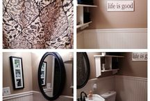 For my stupid little bathroom. / by Jamie Green