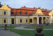 """Tuzser Castle / The Lónyay Mansion of Tuzsér is an important memento of the a rchitectural and domestic-cultural preferences of the Hungarian aristocracy. The mansion was built in 1787 in Viennese style by János Lónyay, the """"hussar"""" (cavalryman) guard of Empress Maria Theresa. www.budapestdaytrips.com"""