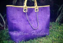 Bags / Fashion bag. Bag. Python leather