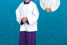 Alby - stroje liturgiczne / Stroje liturgiczne