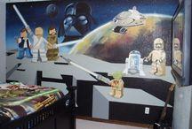 Star Wars Bedroom / by Hamsternaut :)