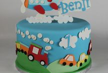 Tomek 2nd birthday / Train and car party