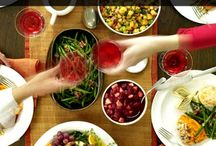Thanksgiving / Tips for preparing Thanksgiving dinner the first time, hosting your first Thanksgiving, decorating your home for the holiday.