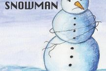 The Freezing Snowman- Children's Book :)