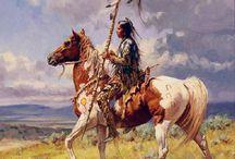 Yağlı boya at resimleri