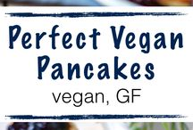 Vegan food and desserts