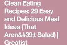 Salad Ideas Healthy Clean Eating