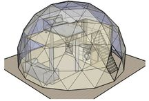 tiny dome house
