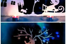 School and home decorations