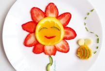 Decorações de pratos infantil