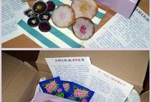 """PAMK– Post aus meiner Küche / Hier findet ihr meine Beiträge zur """"Post aus meiner Küche""""-Aktion (http://www.postausmeinerkueche.de),  die Päckchen meiner Tauschpartner und Rezepte der anderen Teilnehmer, die mir besonders gefallen."""